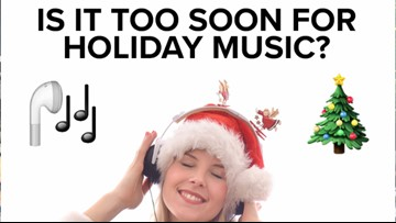 Too early for holiday music? Coast 93.1's Blake and Eva chime in!