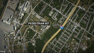 Pedestrian seriously injured after being hit in early morning hours
