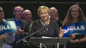 Janet Mills makes history as Maine's first female governor-elect