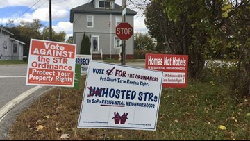 Residents vote in support of short-term rental limits