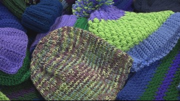Volunteers needed in Special Olympics Maine scarf and hat project