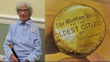Uniquely New England tradition of honoring oldest town resident with Boston Post Cane continues