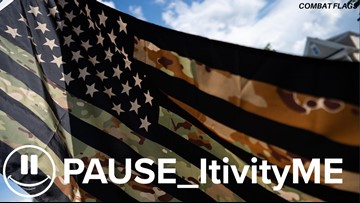PAUSE_itivity: Veteran makes flags from combat fatigues