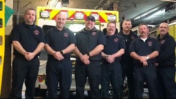 Brunswick first responders save man's life, get unexpected 'thank you'