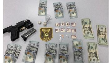 Agents seize 15 grams of heroin, 9mm handgun in Naples drug bust