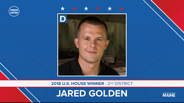 Jared Golden wins in nation's first federal race decided by ranked-choice voting