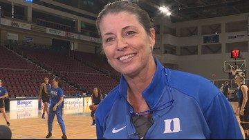 """""""Coach P"""" returns to Maine to face her former team"""