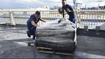 Boston-based Coast Guard cutter seizes 5,000 pounds of cocaine