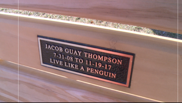 Playground bench to be dedicated in memory of Jacob Thompson