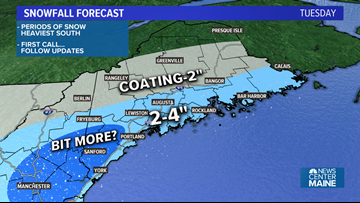 More snow, cold for Maine Thanksgiving week | Breton Blog