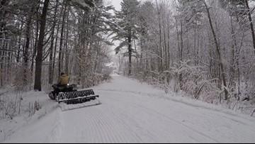Winter's welcome mat rolls over Maine
