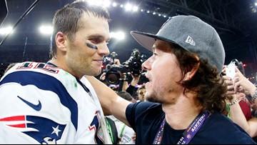 Tom Brady's pick to portray him in a movie: Mark Wahlberg