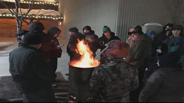BYOF (Bring Your Own Fire): Mainers brave record cold temps for hot Black Friday deals