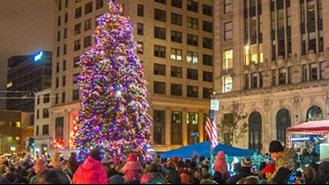 Tree lightings across Maine kick off the holiday season
