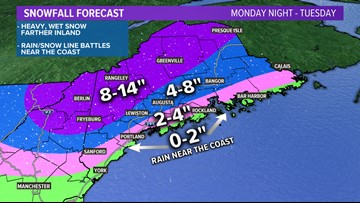 Messy storm tonight into Tuesday | Maine Weather Blog