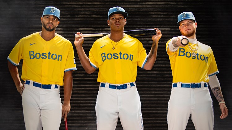 Red Sox unveil Boston Marathon-inspired uniforms, departing from traditional style
