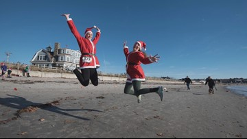 You too, can dress like Santa and run a race.