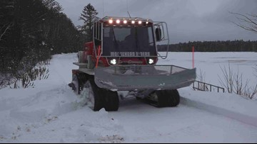 Early snow brings challenge for Maine snowmobile clubs