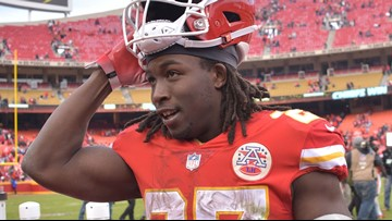 Chiefs cut RB Hunt after video surfaces of attack on woman