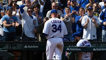 Maybe Jon Lester likes pitching in the NL, but his hamstring misses the AL