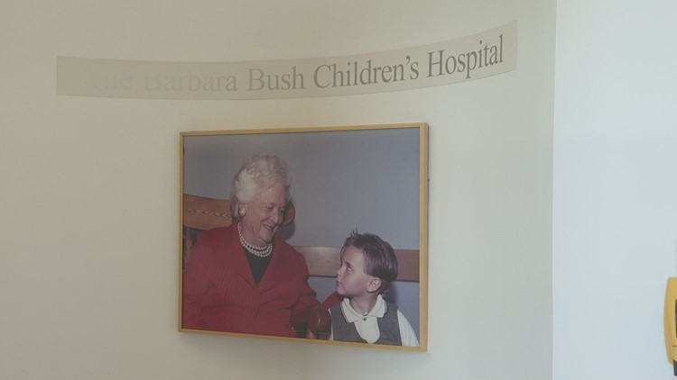 Maine Medical Center remembers George H W  Bush as an