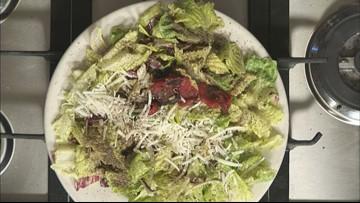 A deadly delicious Caesar salad