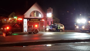 Driver who crashed with ambulance had suspended license