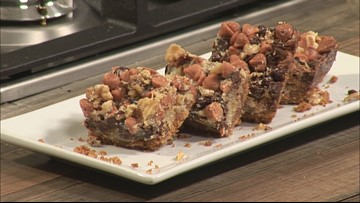 Magic Bars make for an easy & delicious holiday dessert
