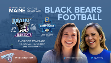 NEWS CENTER Maine headed to Utah with the Black Bears