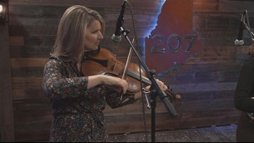 You can't stop moving when you hear Lauren Rioux & The Stocking Stuffers.