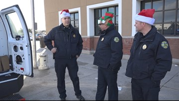 Bangor Police Department holds holiday toy drive