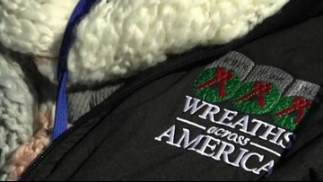 Wreaths Across America makes its way through New England