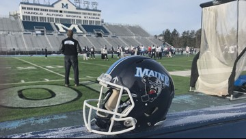Maine's 'Black Hole' defense helping the team make history