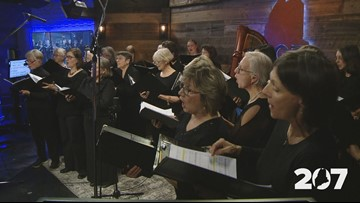 The voices of Oratorio Chorale a choir of joy.