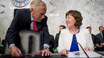 Collins, King among senators awaiting impeachment trial