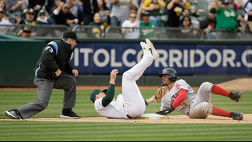 The long arm of Laureano slaps the Red Sox with three losses