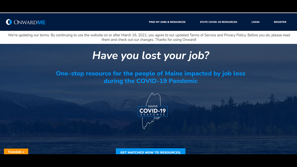 New website to help unemployed Mainers find resources