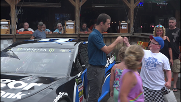Maine native gears up for first NASCAR Cup Series