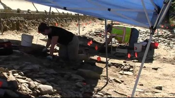 Archaeologists work to excavate 277-year-old fort in Windham ahead of road project