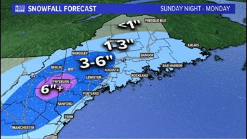 Late April storm brings heavy, wet snow to Maine