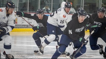 Maine-born hockey player returns home to play for Mariners