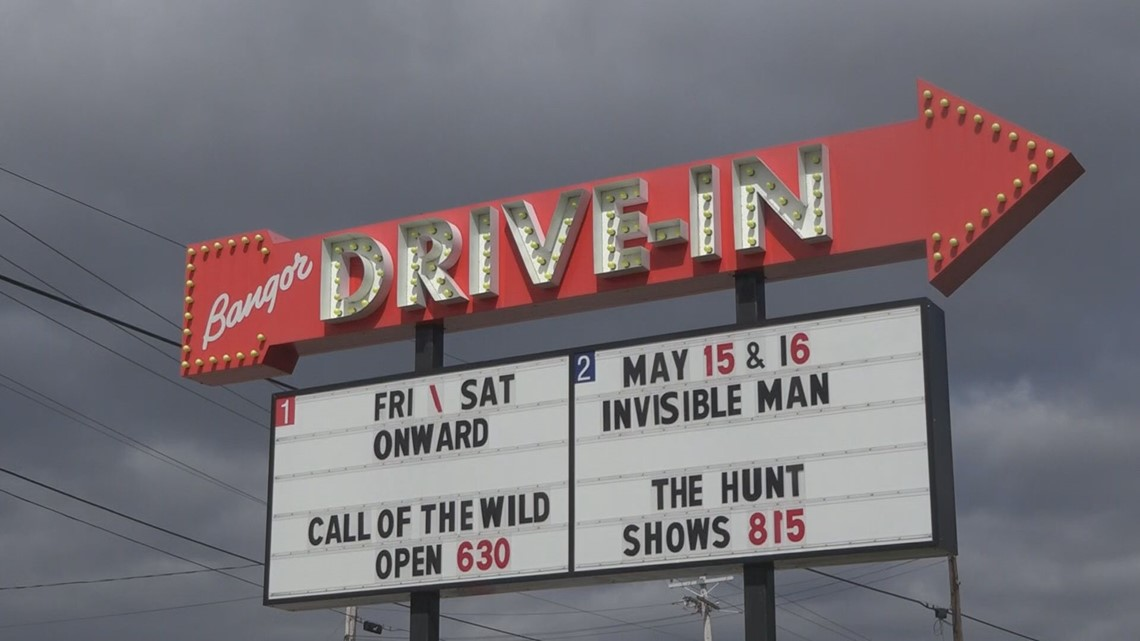Drive-In theaters are back open!
