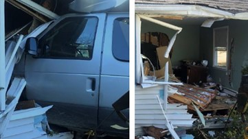 Phippsburg man crashes into elderly woman's house in Bath, causing significant damage