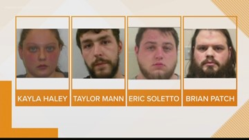 Four indicted for armed robbery