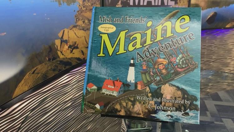 Children's book highlights scenic Maine spots