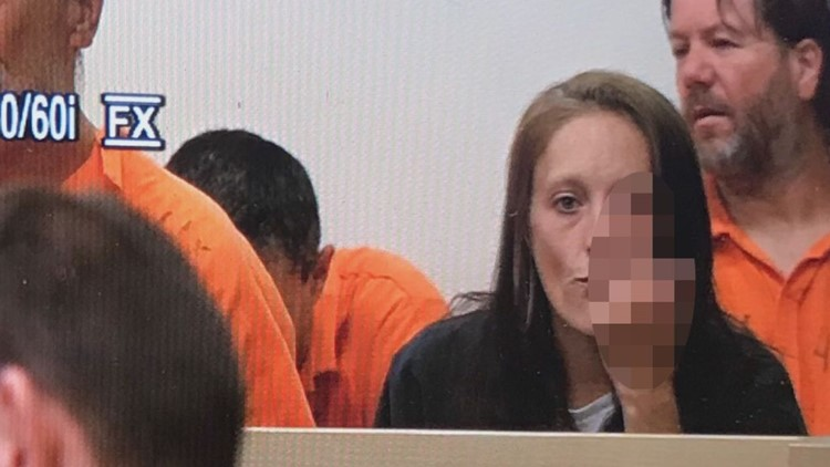 Kimberly Nelligan in court
