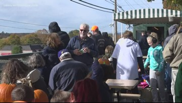 Downeast Scenic Railroad ends its season with some fun