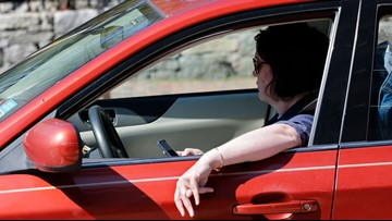 Hefty fine accompanies new hands-free law, at least for now