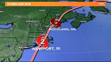 Hurricane Bob hit 28 years ago this week; New England overdue for the next one