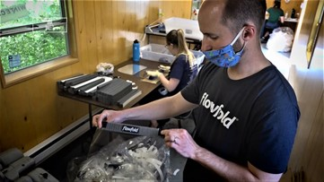 Keep ME Open: Maine-based Flowfold to produce 500,000 shields for Maine CDC